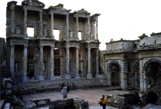 Ephesus the library